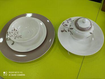 с искусственным в Кыргызстан: Посуда Фарфоровая, производство Россия, Милвис, посуда оптом и в