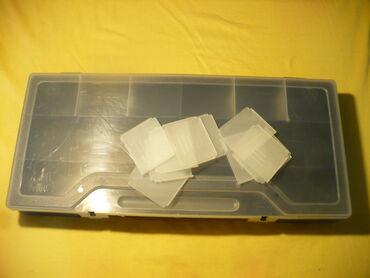 Ostali instrumenti   Srbija: Nova plasticna kutija sa podesivim pregradama. Dimenzije kutije 16 x 3