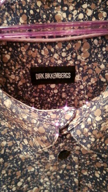 теплые мужские шарфы в Азербайджан: Сорочка мужская, бренд Bikkembergs, новая, цена окончательная, размер