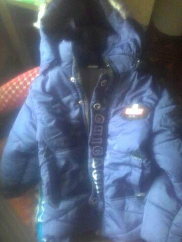 Куртка теплая на 3-4 года