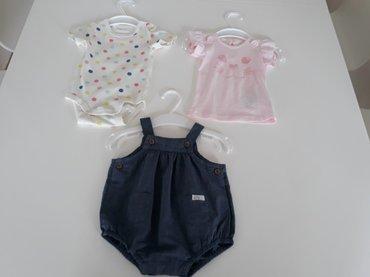 Benetton karirana suknjacm pamuk - Srbija: Komplet za bebe, tregerke i bodi sa tufnicama Lindex, majica Benetton