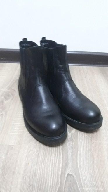 Кожаные ботинки. купили в LIONе . надела в Бактуу долоноту