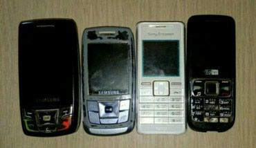Gencede. 4 eded köhne telefonlar. (whatsapp var) - Gəncə