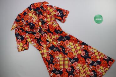Жіноча сукня з принтом р. XS    Довжина: 101 см Ширина плечей: 37 см Д