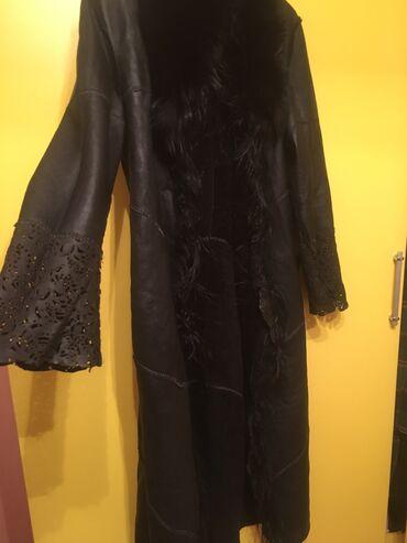 куртка женская бишкек в Кыргызстан: Дубленка двухстороннее,Турция48 размер4тыс .с