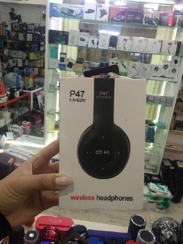 Bluetooth Nauşnik P47 super ses efekti var