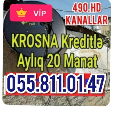 peyk - Azərbaycan: Peyk antenna krosna