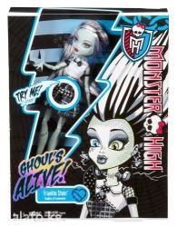 Monster high it's alive frankie stein doll. Светиться при в Бишкек