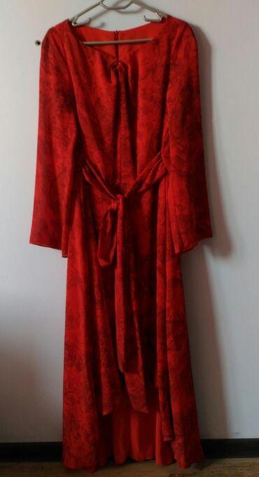 Платье Корея шифон на плотном подкладе, разм 48-50 полноценный
