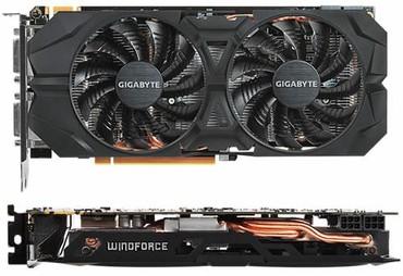Gigabyte Windforce gtx 960, 2gb oc. в отличном состоянии с медными