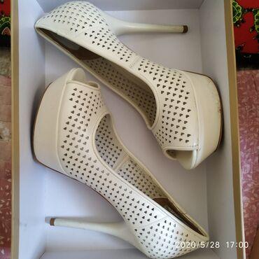 Туфли кожа размер 36 привезли специально с Италии на свадьбу,одела