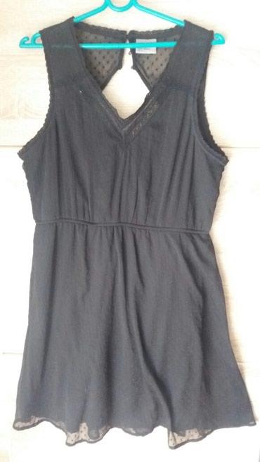 Haljinica-leprsava - Srbija: Crna leprsava haljina vel xl