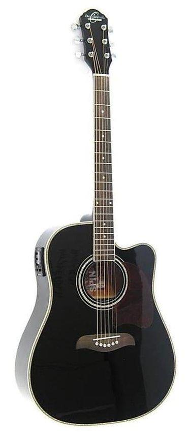 Продаю электро акустическую гитару Oscar Schmidt OG 2 CEB Dreadnought