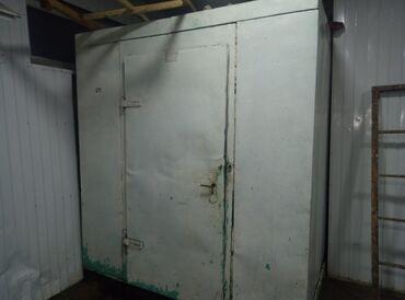 Холодильники - Кыргызстан: Б/у Встраиваемый Белый холодильник