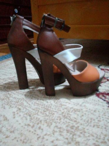 Prelepe sandale, kvalitetna Eko koza. kupljene u Turskoj. Nijednom - Lazarevac