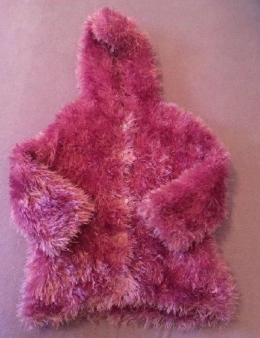 Ostala dečija odeća   Futog: Strikani jaknica/dzemper vel. 1   Prodajem strikani ljubicasti jaknica