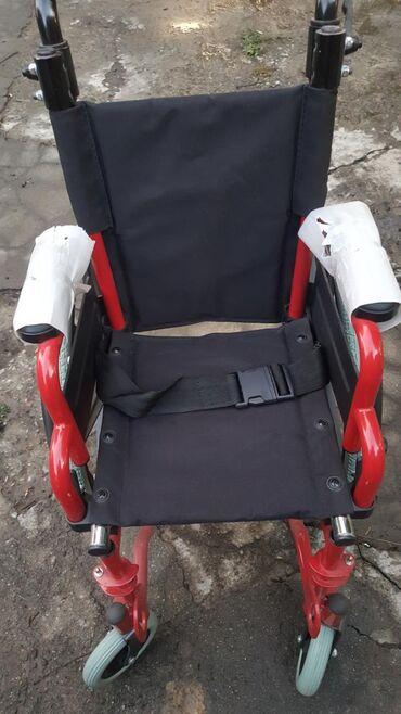 Детская-инвалидная-коляска - Кыргызстан: Продаётся новая детская коляска для инвалидов