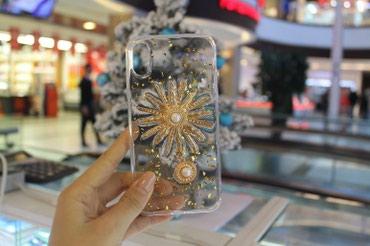 чехлы книжки для телефонов в Кыргызстан: Прозрачный чехол VERSACE на айфон 5/6/7/8/7+8+/Xзарядные устройства
