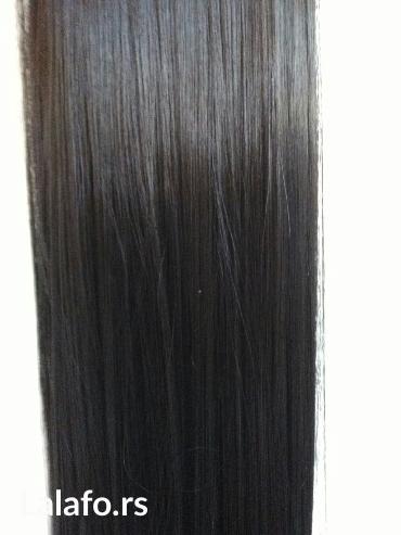 Umetak za kosu na klipse. Novo. Dužina 60 cm. Kosa je poluprirodna i - Pancevo