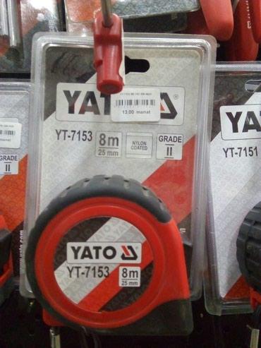 Xırdalan şəhərində YATO YT-7153 8metre polsa malidi keyfiyyetli elana baxib gelen aliciya