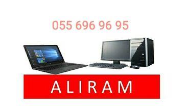 videokamera na kompyuter в Азербайджан: Aliram kompyuter ve noutbuklar xarab ve ishlek Куплю Рабочие И