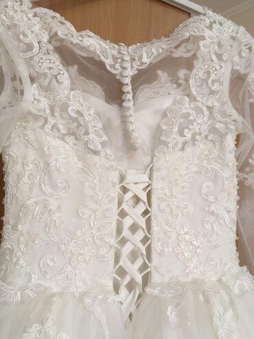 r 44 46 в Кыргызстан: Продаю свадебное платье, в идеальном состоянии. Одевалось один раз