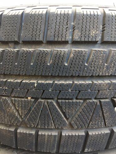 шины зимние бу r16 в Кыргызстан: Продаю зимние шины vitour, 235/45/17 покупал в прошлом году в