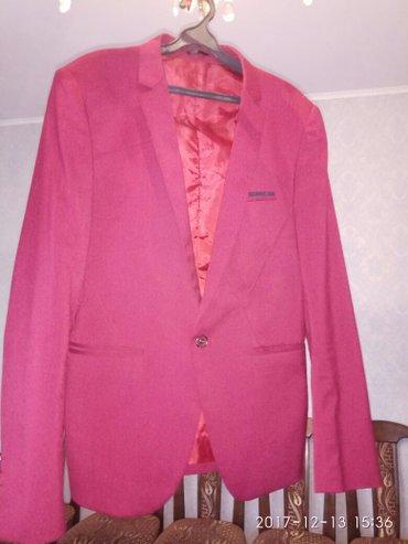 Пиджак бардо ширина плеча -42см,длина рукава 63см в идеал сост в Лебединовка
