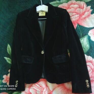 химчистка одежды в Кыргызстан: Бархатный пиджак (Womma)Размер 38. Вещь б/у, но после химчистки.Цену
