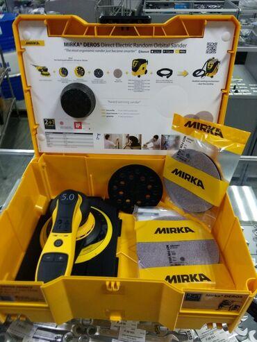 Шлифовальная машинка MIRKA Практически новая. За подробностями пишите