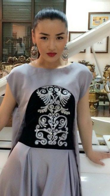 Продаю красивое дизайнерское платье в Бишкек