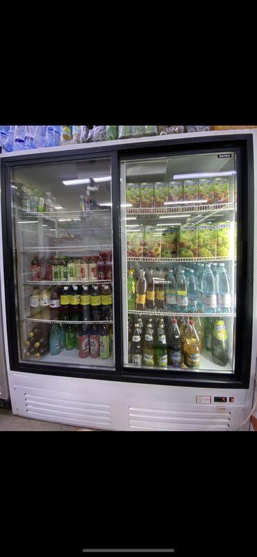 Б/у Двухкамерный | Черный холодильник Profycool