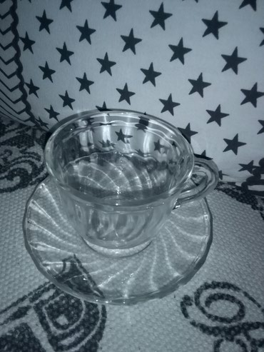 Solje za kafu staklene,nisu kineske ,kvalitetno staklo ali fali jedna - Sombor