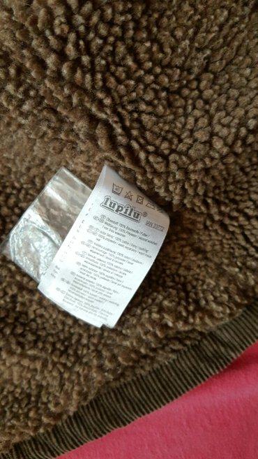 Jakna  braon decija somot jakna sa vunom unutra  novo - Pozarevac - slika 3