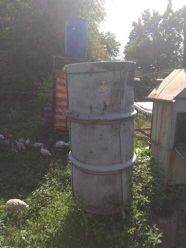 Все для дома и сада в Кок-Ой: Алюминиевая бочка на ножках и с краном, использую под воду. объем 200