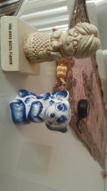 Статуэтки - Азербайджан: Fiqurka-slonik (fil), qjel', iz Moskvi(Moskvadan),prekrasniy