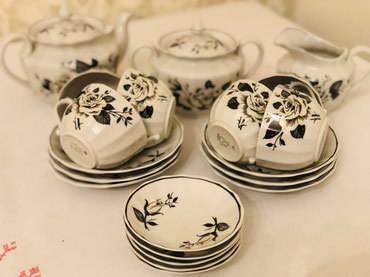 Чайный форфоровый сервиз 20 предметов в Бишкек
