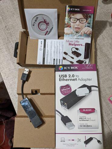 3g usb modem в Кыргызстан: Продаю адаптер USB 2.0 к Ethernet. Покупала в Германии, пользовалась 4