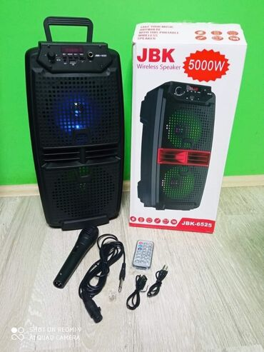 Elektronika - Kursumlija: Blutut Zvucnik Karaoke JBK-6525 sa mikrofonom i daljinskim- Izuzetno