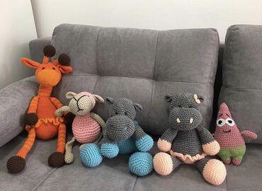 Pletene lutke od svih vrsta vunice, rucno radjene