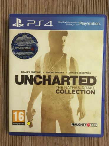 Bakı şəhərində Uncharted  The Nathan Drake Collection PS4 üçün