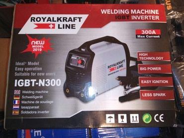 Aparat za zavarivanje, varenje, - inverter - Royal Kraft 300A nov, - Subotica