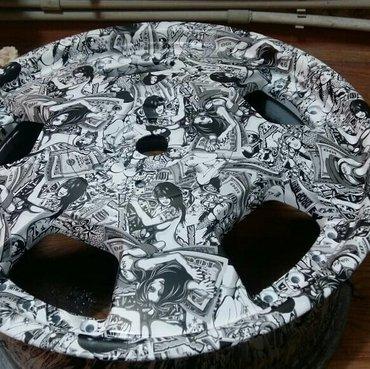 Аквапринт!наносим текстуру на любую поверхность:диски детали салона,зе в Бишкек