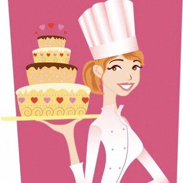 Требуется кондитер оформитель заказных тортов с опытом ! в Бишкек