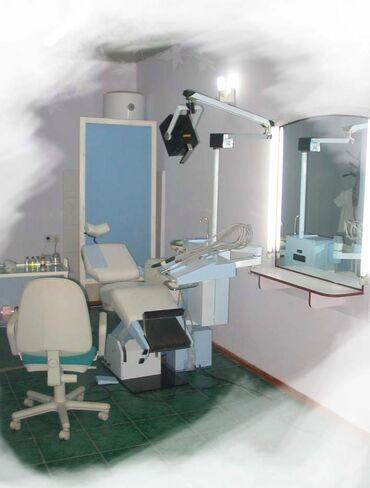 1. Стоматологическая установка трубинка УС-01 с слюноотсосом + кресло