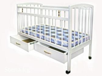 Новые детские кроватки с ящиками и без ящиков,  в Бишкек