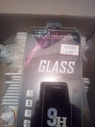 защитные пленки samsung в Кыргызстан: Защитное стекло на Samsung Galaxy star G350 10шт 50сом