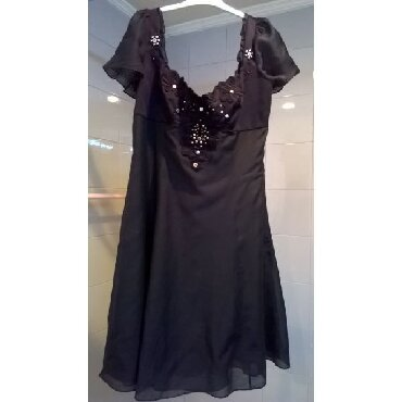 Φόρεμα μαύρο Karen Millen Νο.38  Μεταχειρισμένο σε πολύ καλή κατάσταση σε Athens