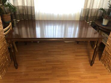Продаю стол дерево состояние хорошее. Ширина 110 см длина 180 см. В ко