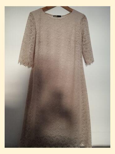 Кружевное платье хорошего качества!